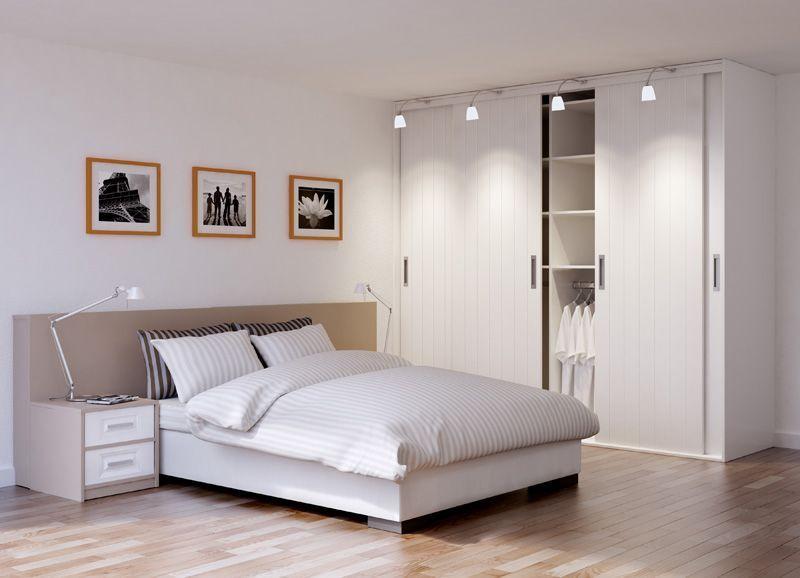 Slaapkamer Lage Kasten: Slaapkamer kast met schuifdeuren tijdloos ...